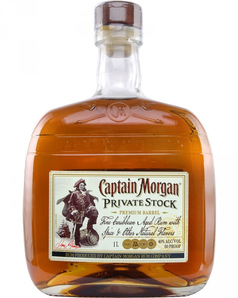 Captain Morgan Private Stock 1,0l