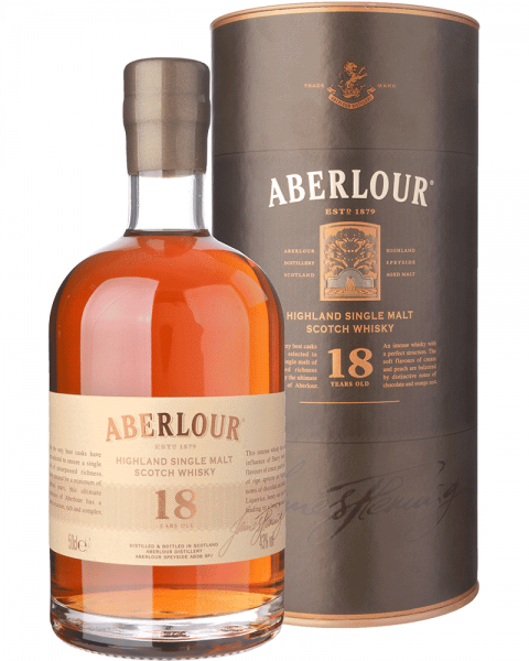 Aberlour 18 Years Single Malt Scotch Whisky 0,5l