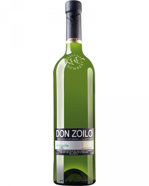 Don Zolio W&H Collection Pale Dry Manzanilla Sherry 0,75l