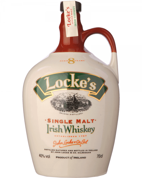 Locke´s Single Irish Malt Whiskey 8 Jahre im Keramikkrug 0,7l