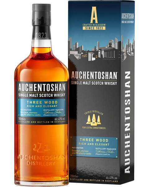 Auchentoshan Three Wood 0,7l
