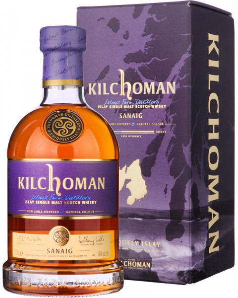 Kilchoman Sanaig Single Malt Scotch Whisky 0,7l