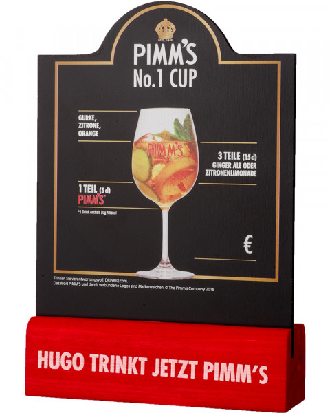 Pimms The Original No 1 Tischtafel