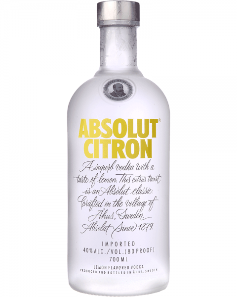Absolut Vodka Citron 0,7l