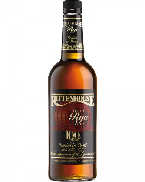 Rittenhouse Rye Whiskey 100 Proof 0,7l
