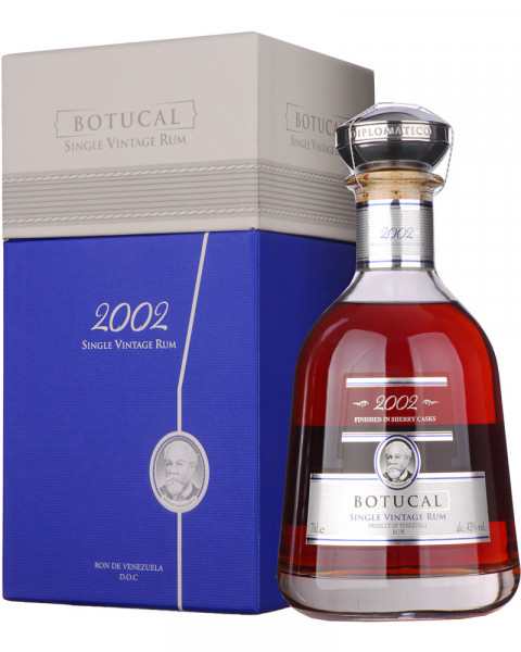 Ron Botucal Single Vintage Rum 2002 Limited Edition 0,7l