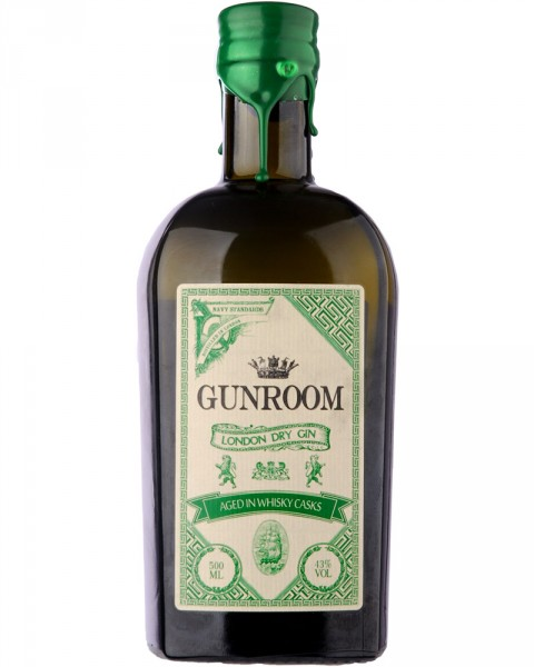 Gunroom London Dry Gin - Aged in Whisky Casks 0,5l