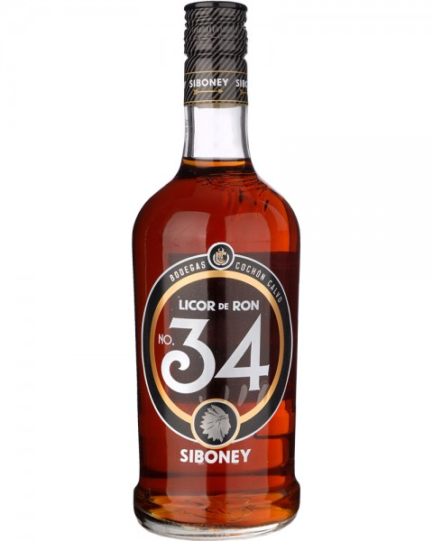 Ron Siboney 34 Licor de Ron 0,7l
