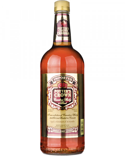 Potter´s Crown Canadian Whisky 1,0l