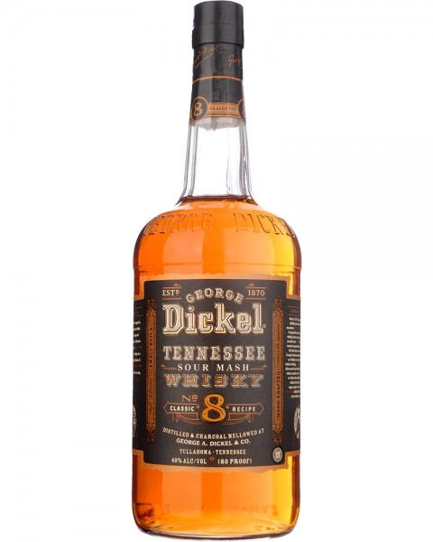 Georg Dickel No. 8 Tennessee Whiskey 1,0l