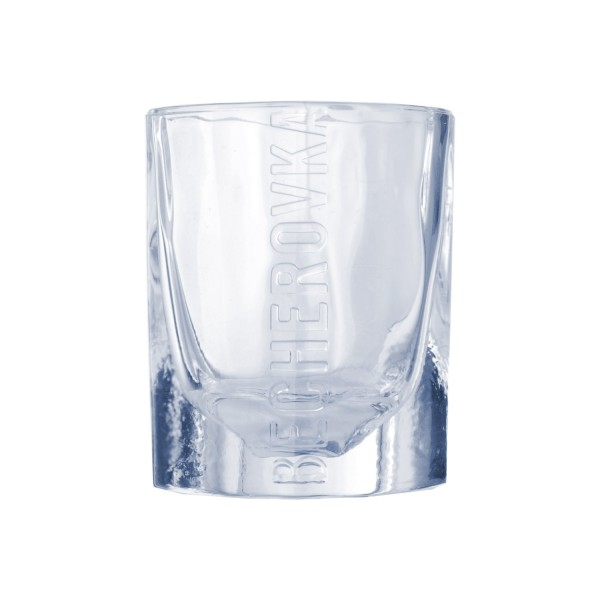 Becherovka ice Shoot Glas