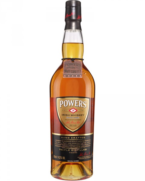 Powers Gold Label - Hand Crafted Irish Whiskey 0,7l