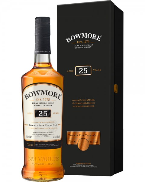 Bowmore 25 Years Old Islay Single Malt 0,7l