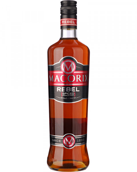 Macorix Rebel Spiced Premium Craft Rum 0,7l