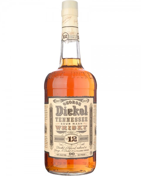 Georg Dickel No. 12 Tennessee Whiskey 1,0l
