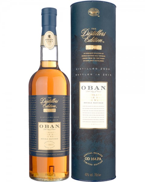 Oban Distillers Edition 2000-2015 0,7l