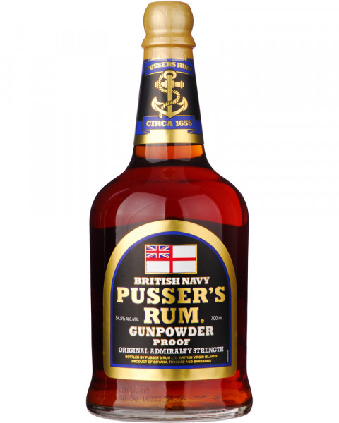 Pusser's Gunpowder Proof Rum 0,7l