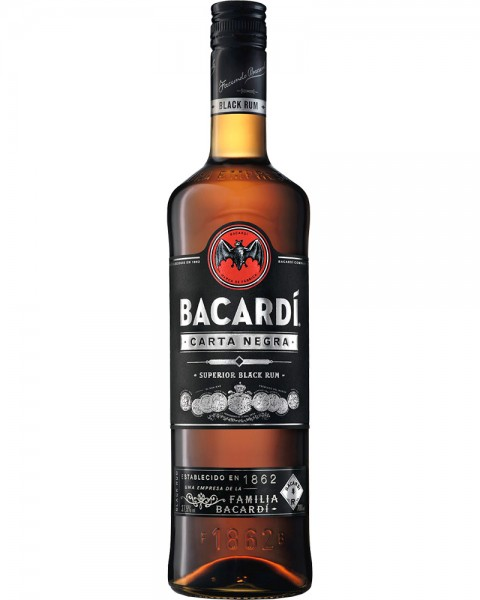 Bacardi Carta Negra 37,5%vol 0,7l