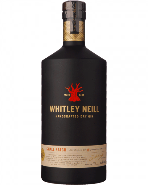 Whitley Neill Small Batch Handcrafted Dry Gin 1,0l