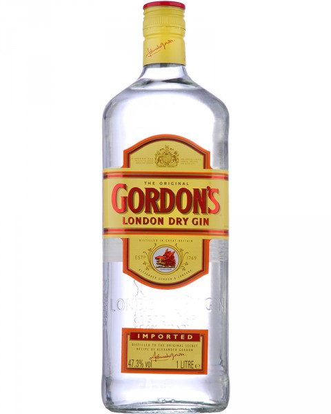 Gordon´s London Dry Gin 47,3% 1,0l