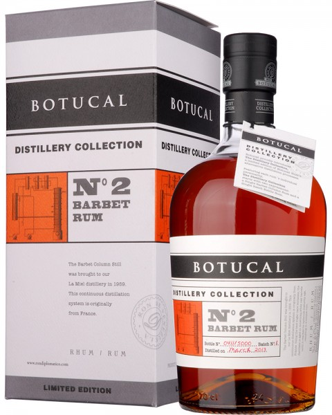 Ron Botucal Distillery Collection No2 Barbet Rum 0,7l
