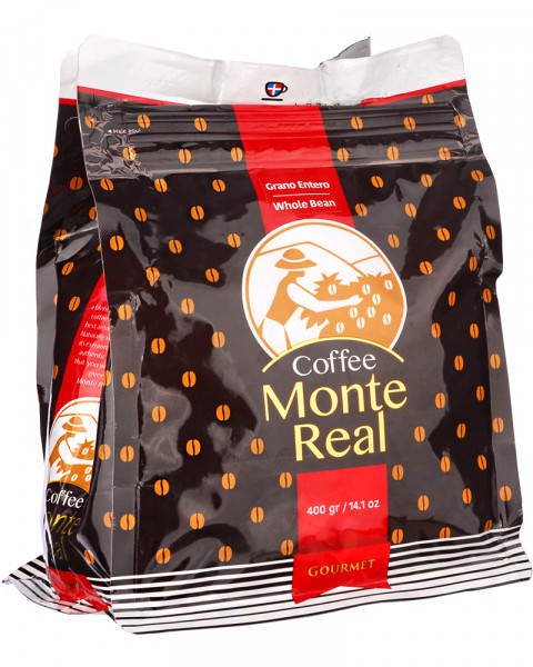 Cafe Monte Real 400g Gran Entero - Ganze Bohne