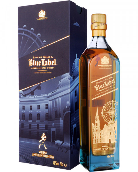 Johnnie Walker Blue Label VIENNA Limited Edition Design 0,7l