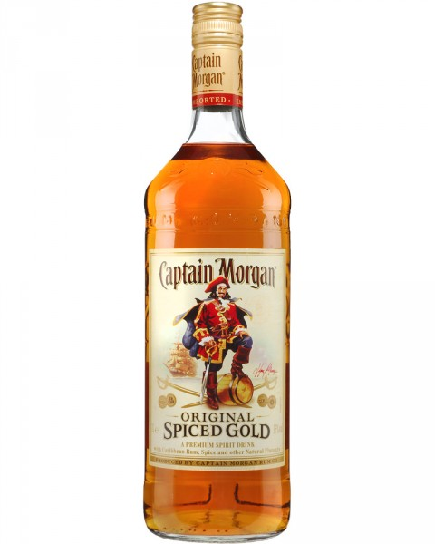 Captain Morgan Spiced Gold 1,0l