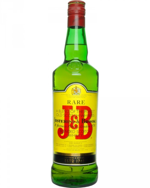 J&B Rare Blended Scotch Whsiky 0,7l