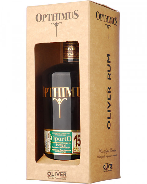 Opthimus 15 Jahre Solera Rum Port Finished 0,7l