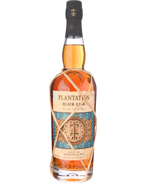 Plantation Black Cask Barbados & Fiji Double Aged Rum 0,7l