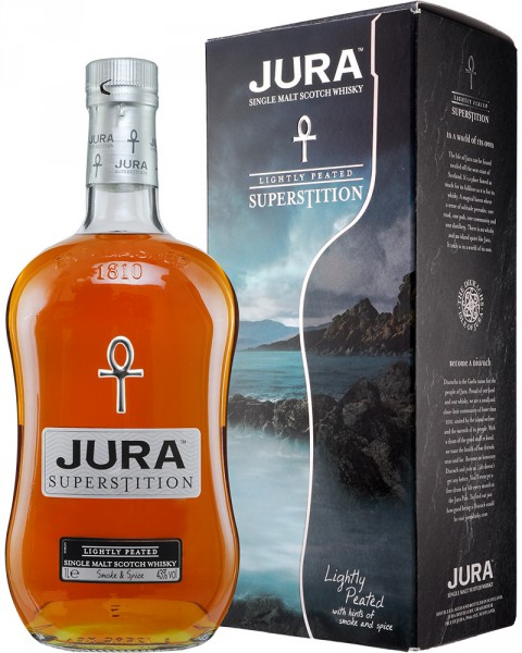 Isle of Jura Superstition Single Malt Scotch Whisky 1,0l