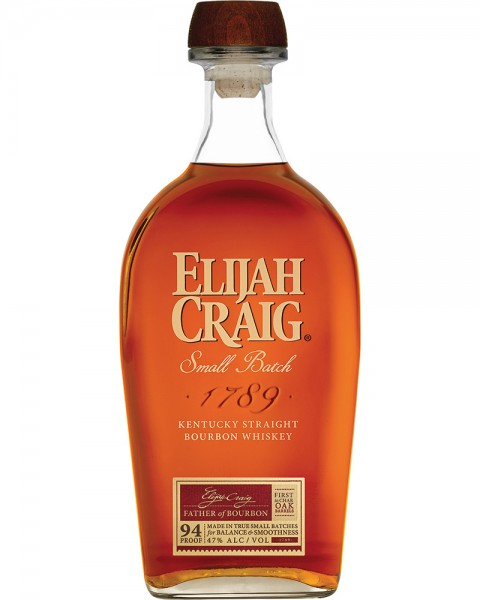 Elijah Craig Small Batch Bourbon Whiskey 0,7l