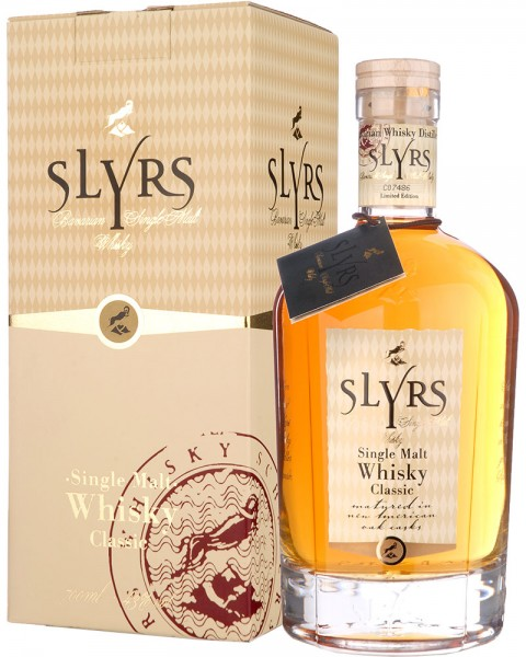 Slyrs Bavarian Single Malt Whisky 0,7l