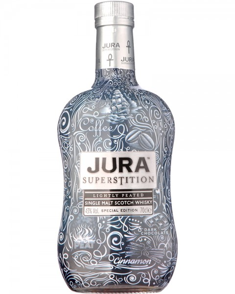 Isle of Jura Superstition Special Tattoo Edition 0,7l