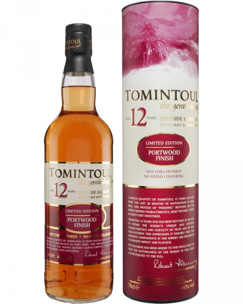Tomintoul 12 Jahre Port Finish 0,7l