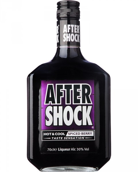 After Shock Black Hot & Cool Spiced Berry 0,7l