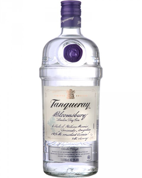 Tanqueray Bloomsbury Limited Edition 1,0l