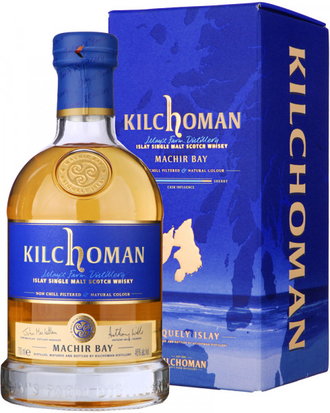 Kilchoman Machir Bay Single Malt Scotch Whisky 0,7l