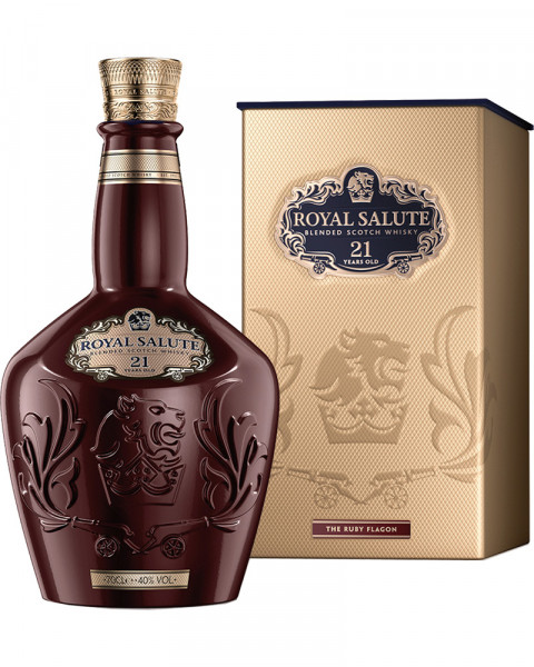 Chivas Royal Salute 21 Jahre Ruby Flagon 0,7l
