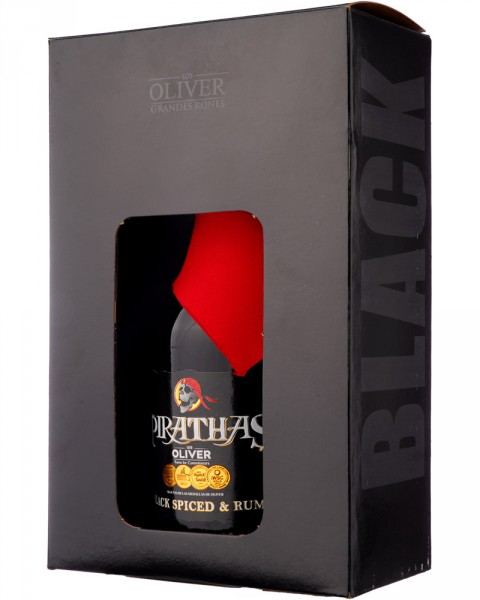 De Pirathas Black Spiced & Rum 0,7l