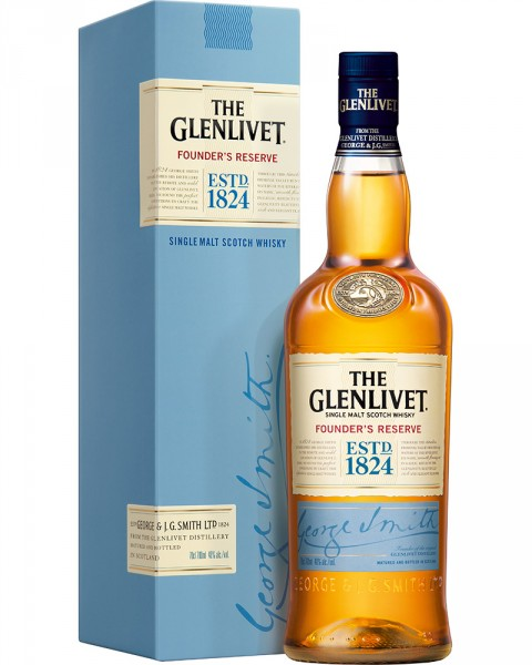 The Glenlivet Founder´s Reserve 0,7l