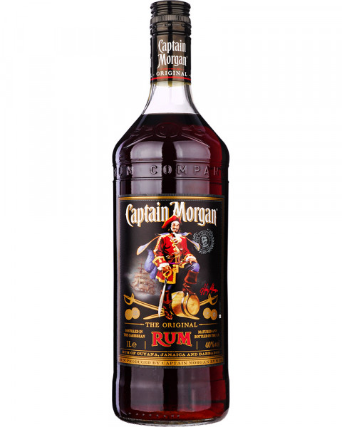 Captain Morgan Black Label 1,0l