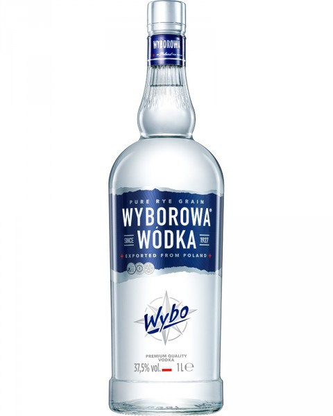 Wyborowa Vodka 37,5%vol. 1,0l