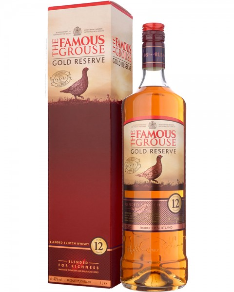 The Famous Grouse 12 Jahre Gold Reserve 1,0l