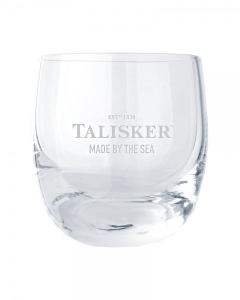 "Talisker Whisky Tumbler Glas ""Made by the Sea"""