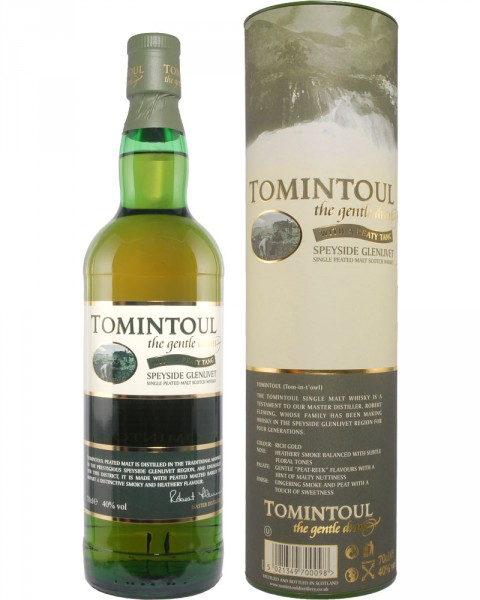 Tomintoul WITH A PEATY TANG 0,7l