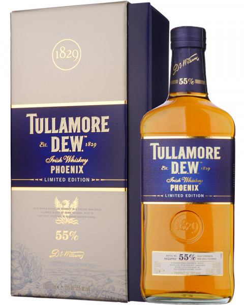 Tullamore Dew Phoenix 1829 Limited Edition Irish Whiskey 0,7l