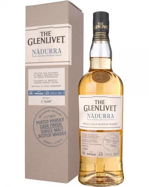 The Glenlivet Nadurra Cask Strength Peated Whisky Cask Finish 0,7l