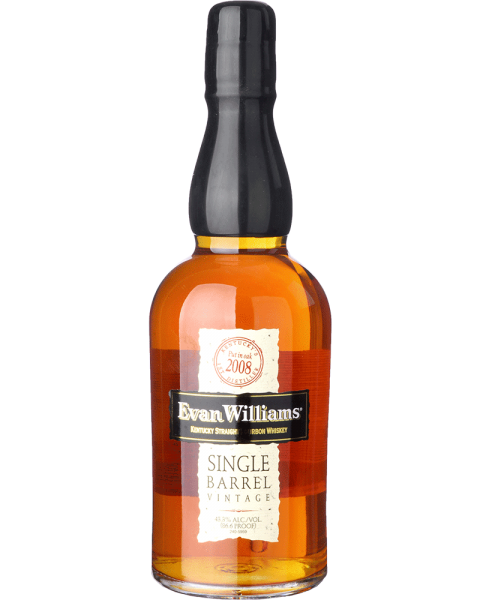 Evan Williams Single Barrel Whiskey 2008 0,7l